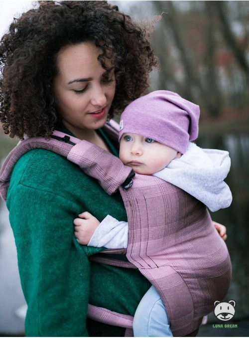 Baby carrier Ombre - 100% cotton, weave cross twill