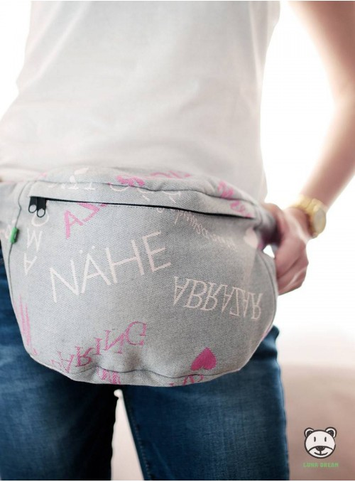 Waist Bag Words of Love - Pink
