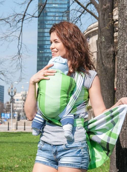 GREEN SPRING (kostkovaný) – 100% Bavlna, keprová vazba
