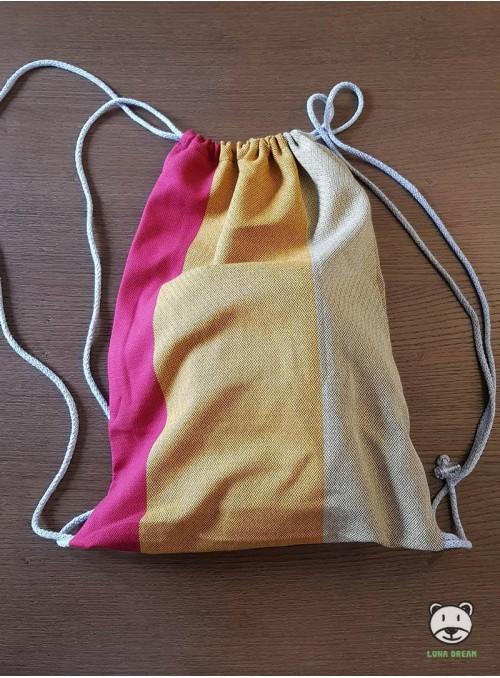 Plecak/Torba - RAINBOW  100% Bawełna, rozmiar 31cm x 43cm