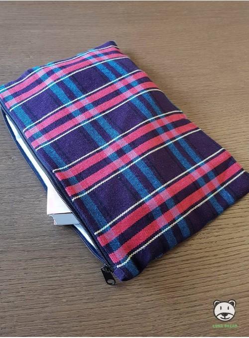 Blueberry Tartan  - Bag 100% Cotton