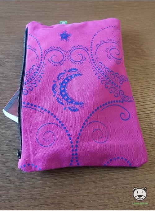 Luna Pink (różowa)  - saszetka 100% bawełna