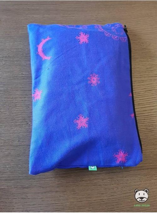 Luna Pink (blue)   - Tasche 100% Baumwolle