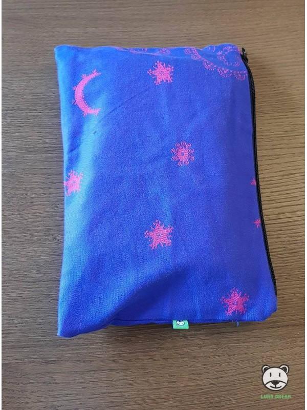 Luna Pink (niebieska)  - saszetka 100% bawełna
