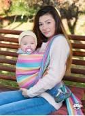 Chusta do noszenia dzieci MAGIC SUMMER - 70% Bawełna 30% Len, splot skośno-krzyżowy