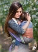 Chusta do noszenia dzieci SPRING PASTEL BAMBOO - 60% Bawełna 40% Bambus, splot skośno-krzyżowy