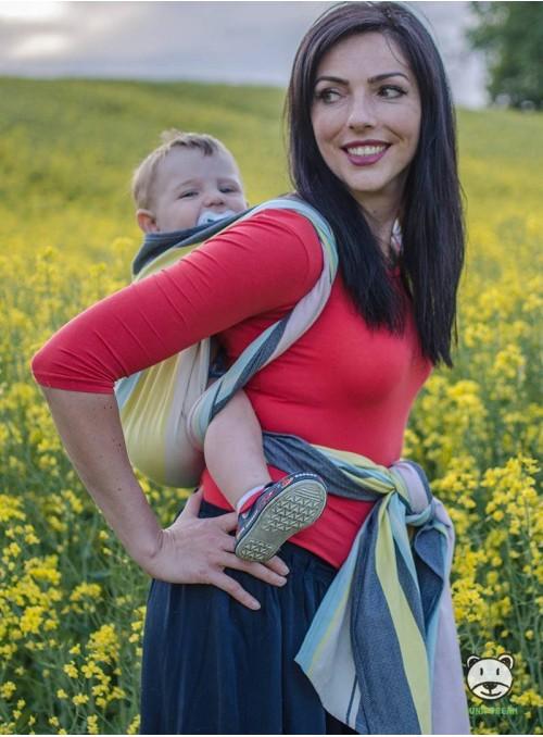 Chusta do noszenia dzieci RELAX - 100% Bawełna, splot skośno-krzyżowy