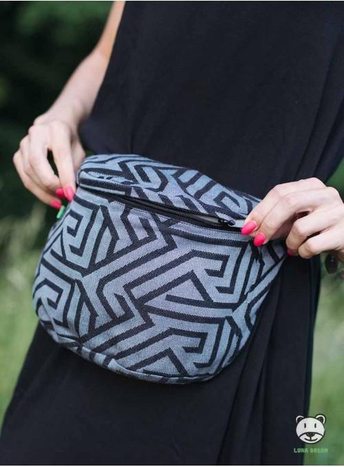 Bederní taška Maze (grey)