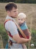 Chusta do noszenia dzieci RAINBOW - 100% Bawełna, splot diamentowy