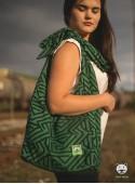 Torba Panama Maze zielona