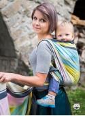 Chusta do noszenia dzieci RELAX BAMBOO - 60% Bawełna 40% Bambus, splot diamentowy