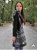 Torba Panama Diamond Lace Black Elegance