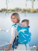 Регулируемый эро-рюкзак Multi Size: Pomerania, 100% хлопок, жаккардовое плетение