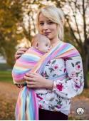 Chusta do noszenia dzieci MAGIC SUMMER - 100% Bawełna, splot skośno-krzyżowy
