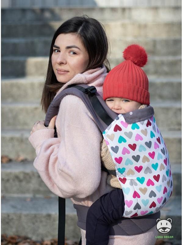 Ergonomic Baby Carrier Standard: Magic Hearts