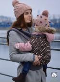 Babytrage Standard: Polka Dot