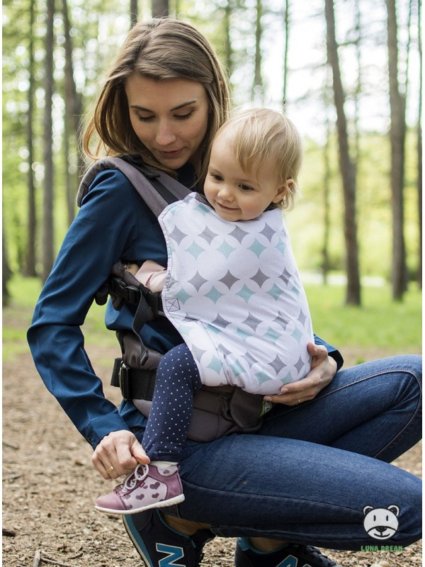 Adjustable Baby Carrier Grow Up: Forest mint