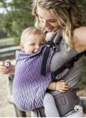Nosidełko regulowane Grow Up Wrap: Herringbone purple