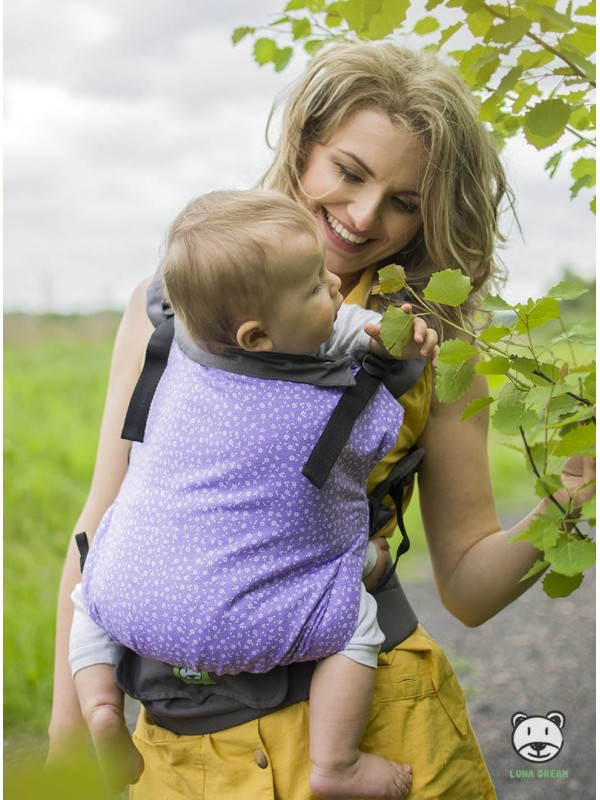 Adjustable Baby Carrier Grow Up: Meadow (violet)