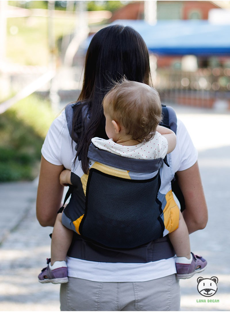Baby Carrier Soft Front and Back Child Carrier Baby Backpacks with Adjustable Waistband
