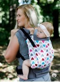 Adjustable Baby Carrier Grow Up Wrap: Magic Hearts