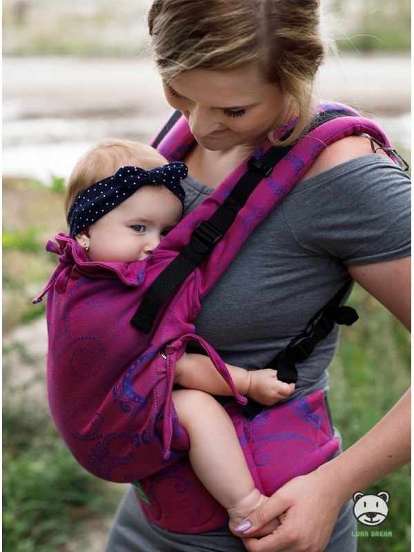 Adjustable Baby Carrier Multi Size: Pink (pink), 100% cotton, jacquard