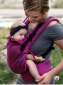 Регулируемый эро-рюкзак Multi Size: Luna Pink (pink), 100% хлопок, жаккардовое плетение