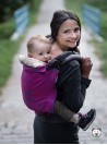 Adjustable Baby Carrier Grow Up Wrap: Luna Pink (pink)
