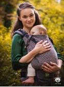 Nosidełko regulowane Grow Up Wrap: Little Hearts ecru