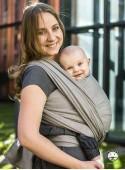 Chusta do noszenia dzieci ADAMANT (khaki) - 100% Bawełna, splot diamentowy