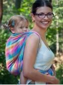Chusta do noszenia dzieci MAGIC SUMMER (krata) - 100% Bawełna, splot skośno-krzyżowy